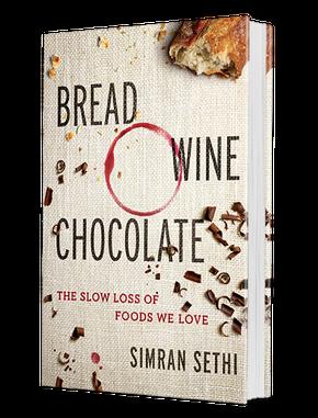 bread wine chocolate book cover